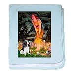 Fairies / Cavalier baby blanket