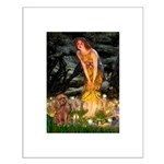 Fairies & Ruby Cavalier Small Poster