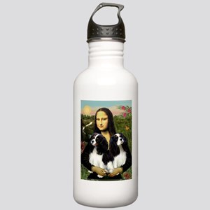 Mona's 2 Cavaliers Stainless Water Bottle 1.0L