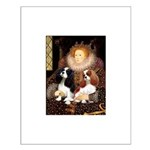 The Queens Cavalier Pair Small Poster