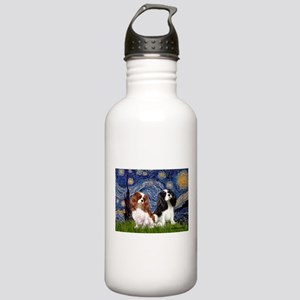 Starry Cavalier Pair Stainless Water Bottle 1.0L