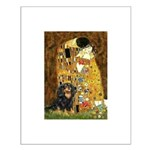The Kiss / Cavalier (Blk-Tan) Small Poster