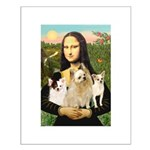Mona / 3 Chihs Small Poster
