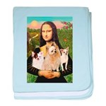 Mona / 3 Chihs baby blanket