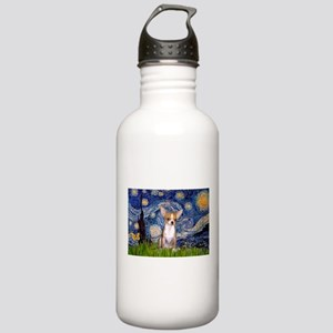 Starry Night Chihuahua Stainless Water Bottle 1.0L