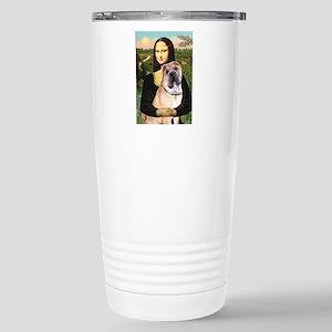Mona Lisa's Shar Pei (#5) Stainless Steel Travel M