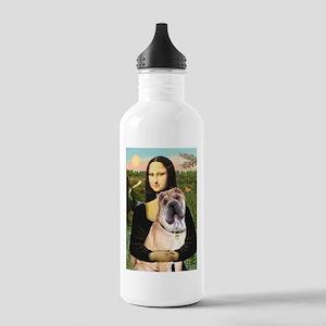 Mona Lisa's Shar Pei (#5) Stainless Water Bottle 1