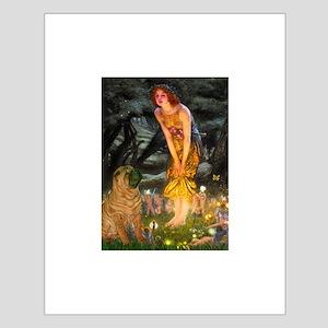 Fairies / Shar Pei Small Poster