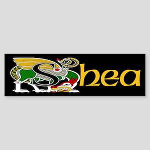 Shea Celtic Dragon Bumper Sticker