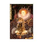 Queen / Cocker Spaniel (br) Mini Poster Print
