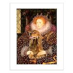Queen / Cocker Spaniel (br) Small Poster