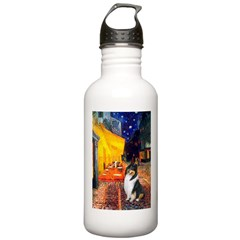 Cafe / Collie (tri) Water Bottle