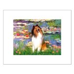 Lilies (2)/Collie (1S) Small Poster
