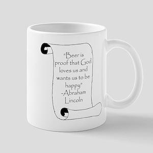 BEER IS PROOF THAT GOD LOVES Mug