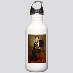 Lincoln's Dachshund Stainless Water Bottle 1.0L