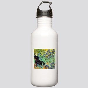 Irises & Dachshund (BT4) Stainless Water Bottle 1.