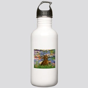 Lilies & Dachshund Stainless Water Bottle 1.0L