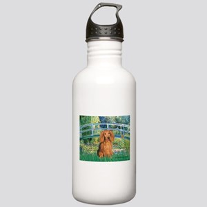Bridge & Doxie (LH-Sable) Stainless Water Bottle 1
