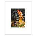 Fairies / Dachshund Small Poster