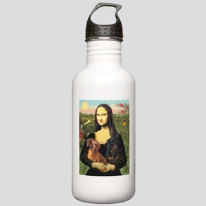Mona Lisa's Dachshunds Stainless Water Bottle 1.0L