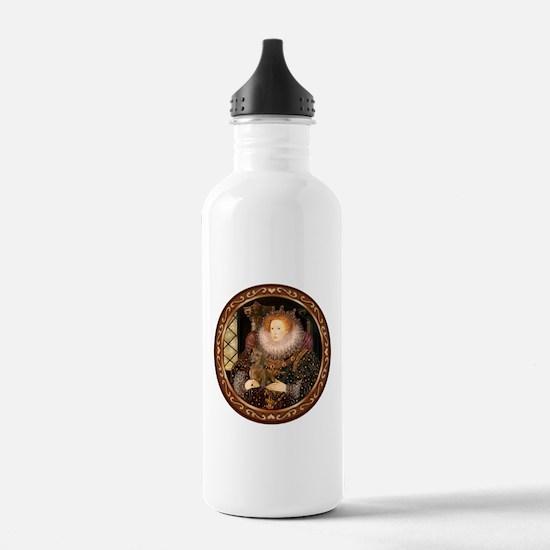 Queen / Dachshund #1 Water Bottle