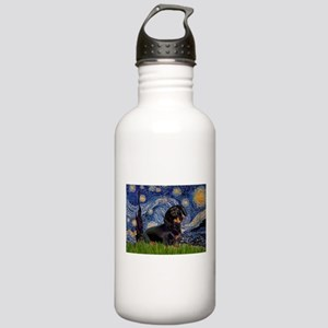 Starry Night Dachshund Stainless Water Bottle 1.0L