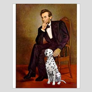 Lincoln / Dalmatian #1 Small Poster