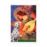 Mandolin / Dalmatian #1 Mini Poster Print