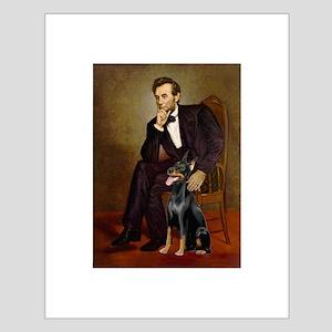 Lincoln's Doberman Small Poster