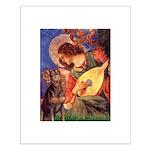 Mandolin Angel & Dobie Small Poster
