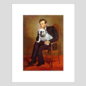 Lincoln's English Bulldog Small Poster