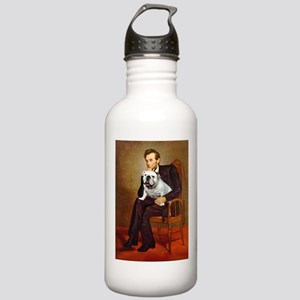 Lincoln's English Bulldog Stainless Water Bottle 1