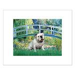 Bridge / English Bulldog (#9) Small Poster