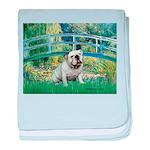 Bridge / English Bulldog (#9) baby blanket