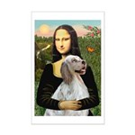 Mona's English Setter Mini Poster Print