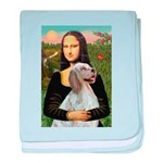 Mona's English Setter baby blanket