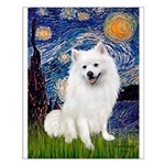 Starry / Eskimo Spitz #1 Small Poster
