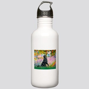 Flat Coated Retriever 2 Stainless Water Bottle 1.0