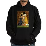 Kiss / Flat Coated Retriever Hoodie (dark)