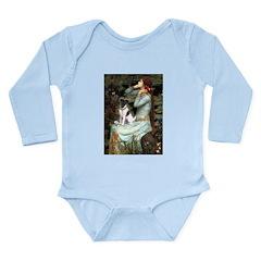 Ophelia / Fox T Long Sleeve Infant Bodysuit