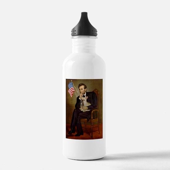 Lincoln/French Bulldog Water Bottle