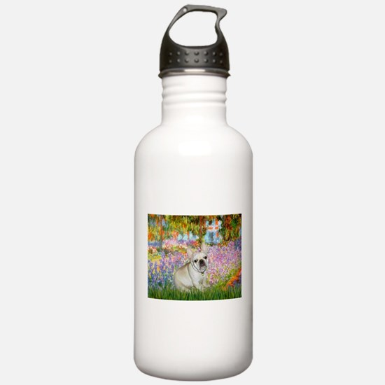 Garden / Fr Bulldog(f) Water Bottle