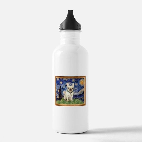 Starry/French Bulldog Water Bottle