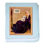 Whistlers / Fr Bull (f) baby blanket