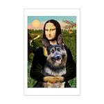 Mona's G-Shepherd Mini Poster Print