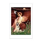 Seated Angel / G-Shepherd Mini Poster Print