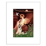 Seated Angel / G-Shepherd Small Poster