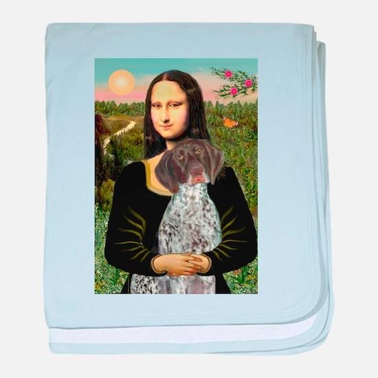 Mona / Ger SH Pointer baby blanket