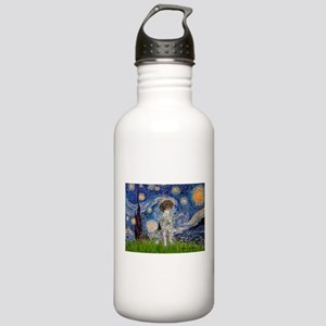 Starry Night /German Short Stainless Water Bottle