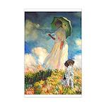 Umbrella / Ger SH Pointer Mini Poster Print